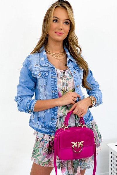 Katana/kurtka jeans DAYSIE - blue