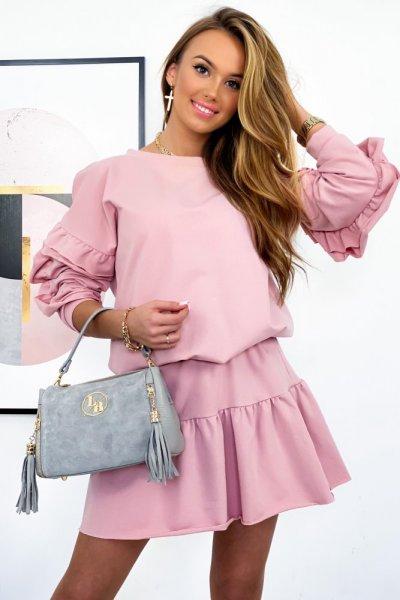 Spódnica LA VIE - pink