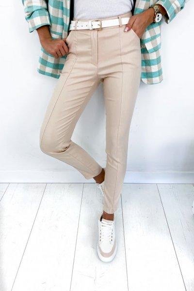 Spodnie wosk - beige