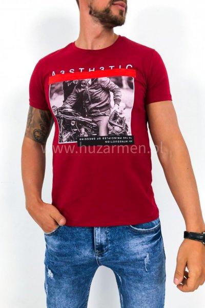 T shirt Rider czerwony