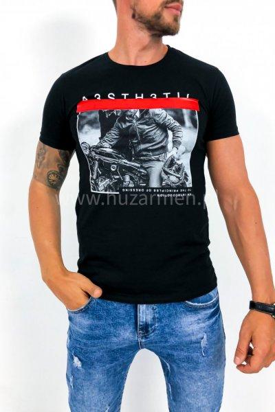 T shirt Rider czarny