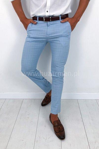 Spodnie męskie Summer Niebieskie