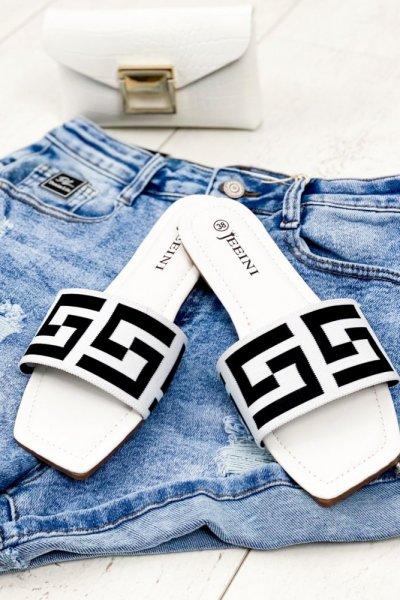 Klapki FF - white