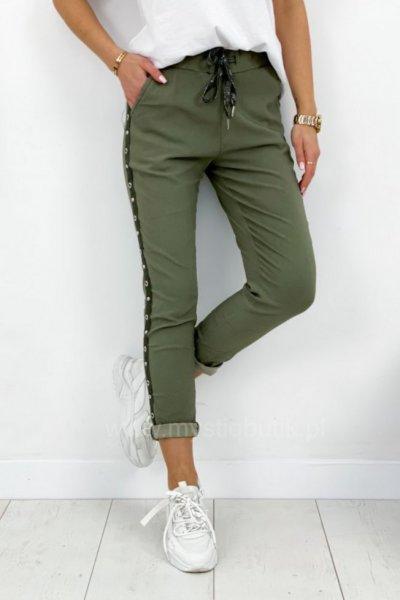 Spodnie BAGGY - khaki