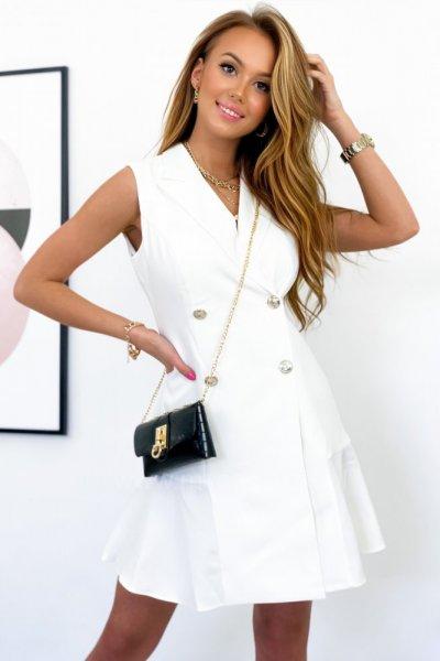 Sukienka ELEGANT - white