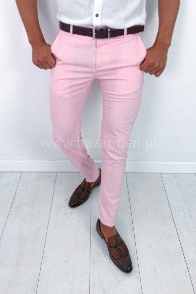 Spodnie męskie Summer Różowe