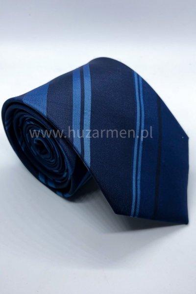 Krawat męski w paski
