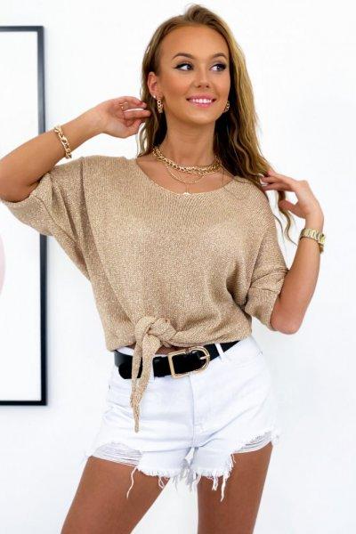 Sweter EDIT - golden