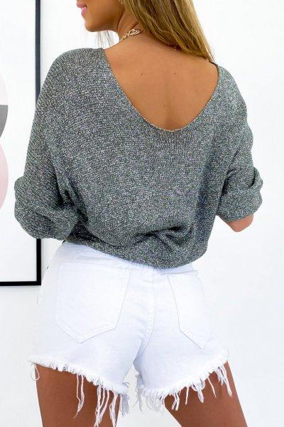 Sweter EDIT - silver
