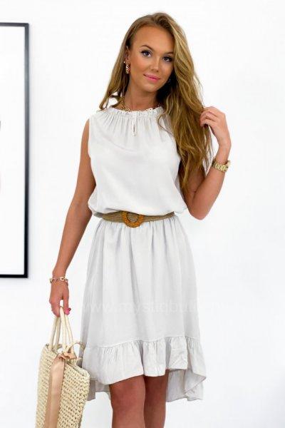 Sukienka SYMETRIC - beige