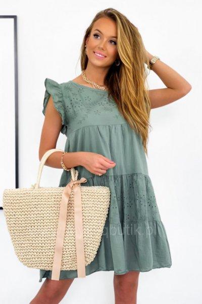 Sukienka TULUM - khaki