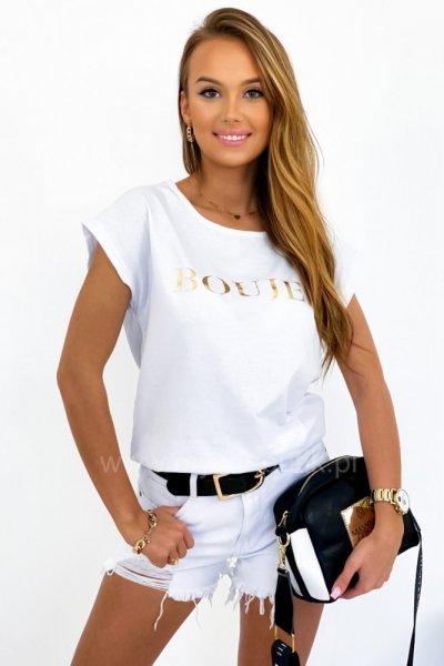 T-SHIRT BOUJEE- white