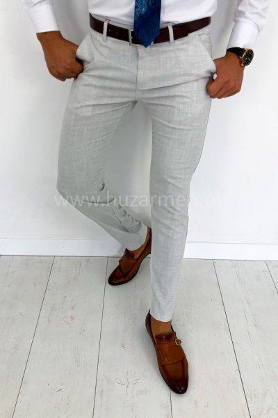 Spodnie męskie materiałowe H53