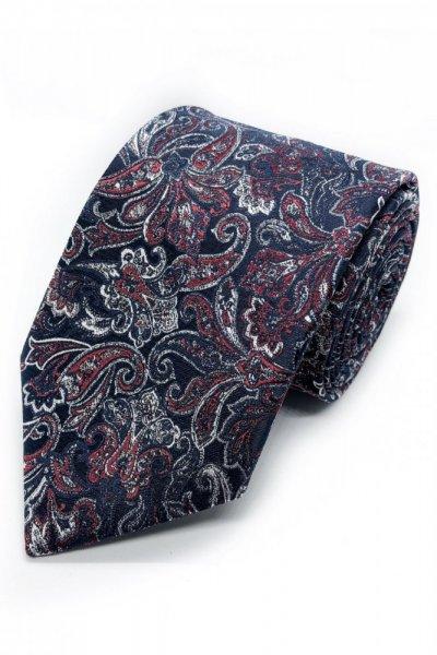 Krawat męski ornament