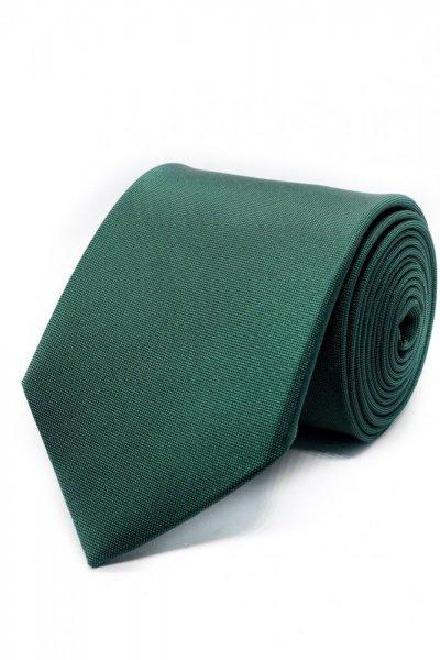 Krawat zielony klasyczny