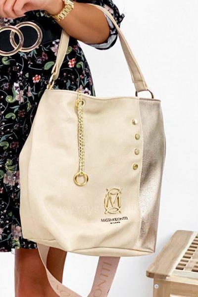 Torba Massimo - gold/beige