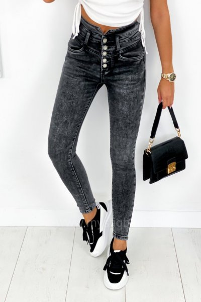 Spodnie Skinny - grey
