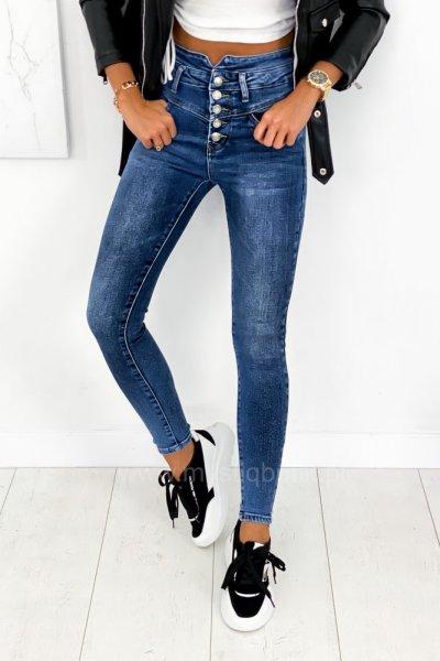 Spodnie Skinny - blue