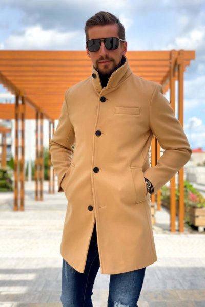 Płaszcz męski Beżowy H4