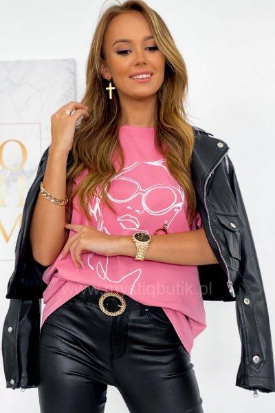 Bluzka HEDDY - pink