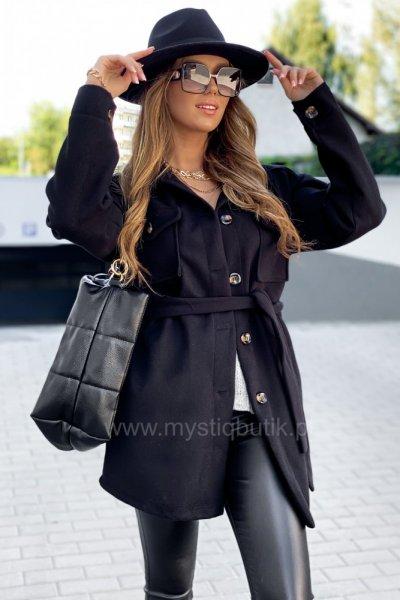 Płaszcz ELI - black short