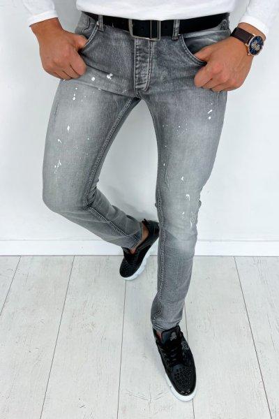 Spodnie męskie jeans grey - EF2390S