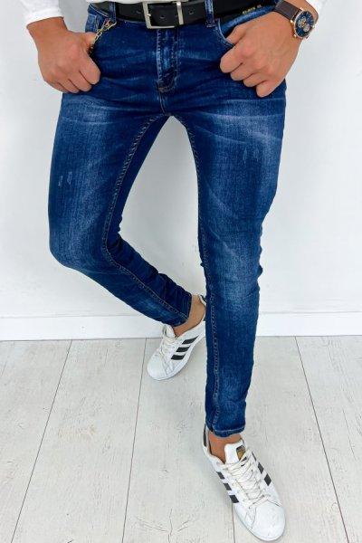 Spodnie męskie jeans RTT80038W0