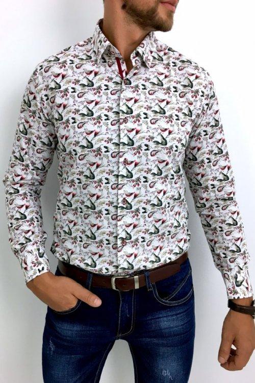 Koszula męska leśne zwierzęta H24